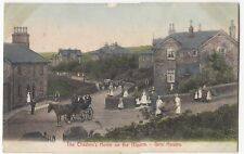 Lancashire; The Children's Home On The Moors, The Girls Houses PPC, 1907 PMK