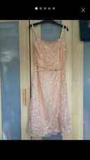 French Connection Sequin Midi Dress Size 10