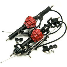 1 Set Alloy Front & Rear Axle with 4WD Lock For 1:10 RC Crawler Car AXIAL SCX10