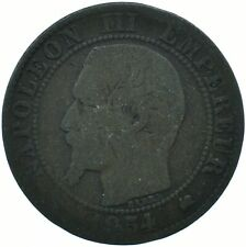 COIN / FRANCE / 5 CENTIMES 1854 BEAUTIFUL COLLECTIBLE   #WT29632