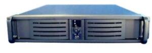 """Istar  D-200 2U rackmount case, 20"""" deep, 300W power, NEW"""