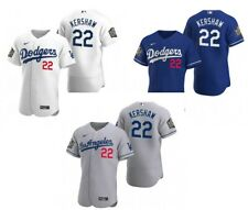 Clayton Kershaw #22 Dodgers World Series 2020 Jersey Stitched