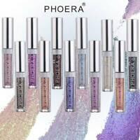 HOT! PHOERA Magnificent Metals Eyeshadow Glitter Glow Liquid metallic Eye Shadow