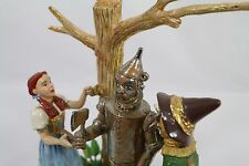 Ron Lee Wizard of Oz Sculpture Tin Man Dorothy Toto Scarecrow Oil Movie Scene