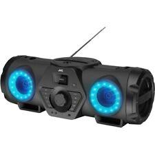 JVC RV-NB200BTBP Boomblaster +Akku 2x30W UKW/Bluetooth/CD/Mikrofoneingang