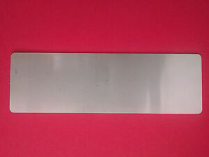 Radio Delete Plate Panel fits Early PORSCHE 911 & 912 66-68 CNC Stainless