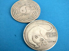 CHINESE 12 ZODIAC ANIMAL RAT PAK QUA MEN WOMEN LUCKY BIRTHDAY COIN PARTY GIFT Q3