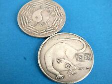 Zodiaco chino 12 animal Rata Pak qua Hombres Mujeres Suerte Moneda De Cumpleaños Fiesta Regalo Q8