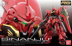 -=] BANDAI - RG Gundam MSN06S Sinanju Real Grade 1/144 Gunpla Model Kit [=-