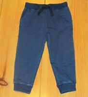 NWT Gymboree Boys Pull on Pants Dark Blue Joggers All Smiles Sweatpants 3 4 7-8