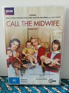Call the Midwife Series Two DVD - 3 disc set - BBC Region 4 VGC