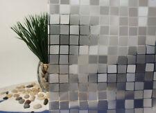 """Mosaic Cut Glass Static Cling Window Film, 36"""" Wide x 75 ft"""