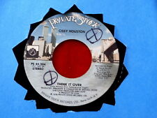 CISSY HOUSTON~ THINK IT OVER~ AN UMBRELLA SONG~ PRIVATE ~MODERN BOOGIE~ SOUL 45
