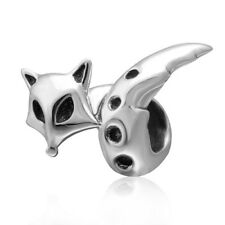 FOX Charm Bead 925 Sterling Silver