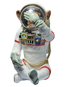MONKEY ASTRONAUT (SEE NO EVIL) - FREESTANDING ORNAMENT 32CM HEIGHT