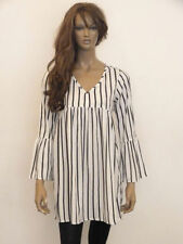 Unbranded Polyester Casual Striped Tops & Blouses for Women
