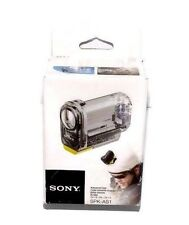 Genuine Sony SPK-AS1 Waterproof Action Cam Case NEW
