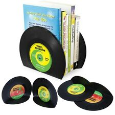 Creative Vinyl Record Bookends Book Ends Book Stopper Holder Home Desk Shelf