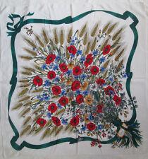 -Superbe Foulard  GUCCI   100% soie  TBEG  vintage scarf  86 x 88 cm