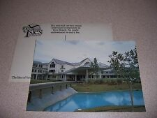1960s THE ISLE of VERO BEACH FLORIDA FL. RETIREMENT COMMUNITY VTG POSTCARD