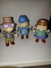 Lot 3 Rug Rats Toy Figures cartoon kids Tv & Movie animation Pretend Play
