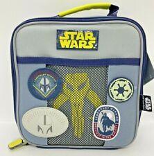 New Disney Store Star Wars The Mandalorian Lunch Box Pail Glow in Dark