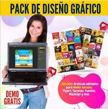 Pack Editable De Diseño Grafico + 100.000-psd + Png + Fuente 2020