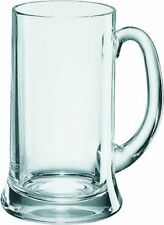 6 x Beer Mug Glass Beer Stein Tankard German Beer Mug Tankard 300ml Tall Beer