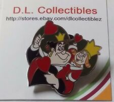 Disney Alice in Wonderland Couples Mystery King and Queen of Hearts pin