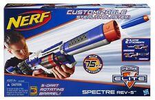 Brand New NERF Elite SPECTRE REV-5 Dart BLASTER Rare