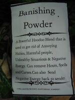 Banishing Powder spell supplies spells Witchcraft Pagan Occult
