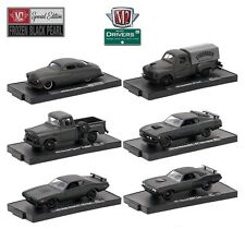 1:64 M2 Machines DRIVERS R41 *FROZEN BLACK PEARL* COMPLETE SET of 6 *NIP*