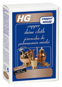HG Copper Shine Cloth - The Copper Cleaning Cloth for a Sparkling Shine