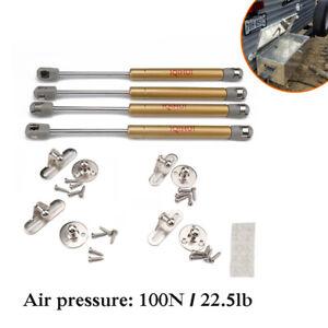 100N/22.5lb Gas Strut Spring Prop Shock Support Rod RV Kitchen Cabinet-Door Kit