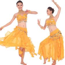 C91805 danza vientre disfraz belly Dance Top + correa y + Rock