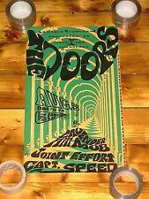 Vintage 1967 The Doors Earl Warren Showgrounds Poster