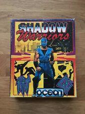 C64 Top Spiel Shadow Warriors Diskette Disk Disc Tecmo CIB Commodore getestet!