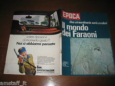 EPOCA 1969/961=TED KENNEDY=MODA UOMO=IL MONDO DEI FARAONI EGITTO=