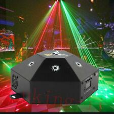 RGB Laser 8 Beam Projektor Bühnenbeleuchtung Remote DMX DJ Club Party Show Licht