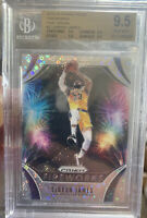 2019-20 PANINI PRIZM FIREWORKS FAST BREAK DISCO LEBRON JAMES BGS 9.5 TRUE GEM