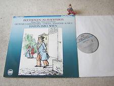 BEETHOVEN Klaviertrios Nr. 5 & 6 HAYDN-TRIO GER LP TELDEC DIGITAL, Geister-Trio