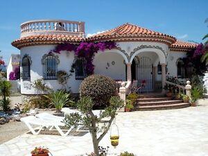 Ferienhaus mit Pool in Spanien an der Costa-Dorada in Miami Platja nähe Cambrils
