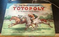 VINTAGE 1949 TOTOPOLY COMPLETE LOVELY CONDITION WADDINGTONS HORSE RACING FUN