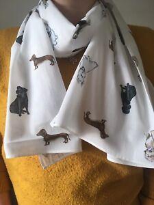 Dog Scarf Cotton Scarf Dog Lover Gift Idea