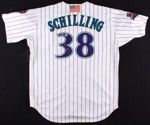 Curt Schilling Signed Diamondbacks 2001 World Series Jersey (TriStar Hologram)