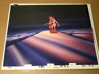 Space Ace (1984) arcade art Key Master Original Production Cel Background Bluth