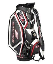 Tour Edge Exotics CBX Black White 4-Way Divided Golf Staff Cart Bag NEW $399.99