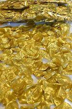 12 X 300 Silk Rose Petals Gold Wedding Bridal Quince Flower Decoration 3,600 pcs