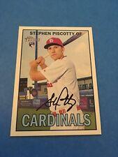 Stephen Piscotty Cardinals 2016 Topps Heritage Rookie #183SP