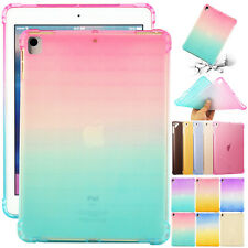 "For iPad 7th Gen 10.2"" Clear Soft TPU Case Rubber Ultra Slim Silicone iPad Cover"